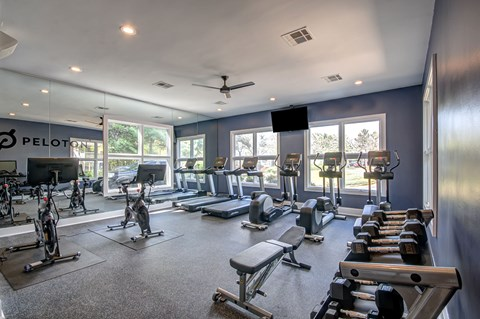 Westfield Village fitness center.