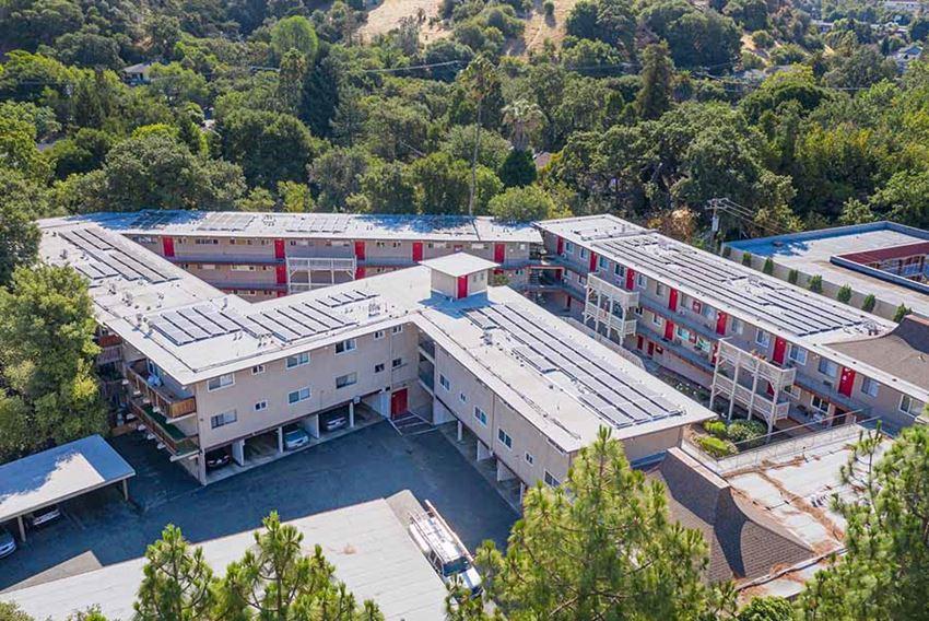 view of community l Lotus Apartments in Martinez CA
