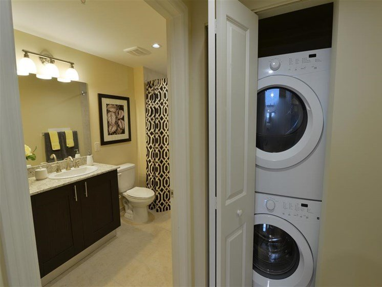 Laundry area with washer and dryer