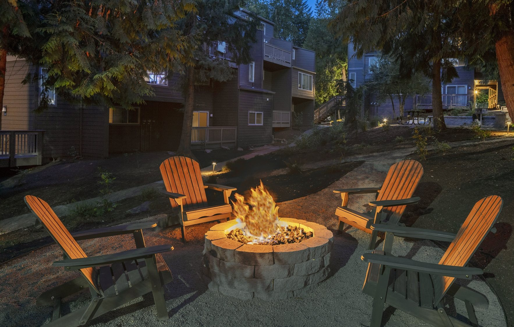 Larkspur West Linn Outdoor Fire Pit