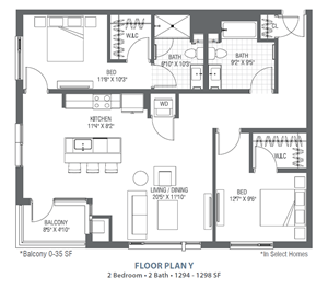 C2 - Y Two Bedroom
