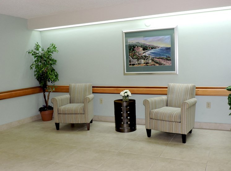 B'nai B'rith I, II, III deerfield apartments in deerfield beach, FL sitting area