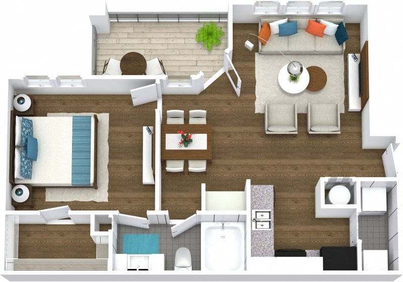 Floor Plans Of The Preserve At Lakeland Hills Apartments In Lakeland Fl
