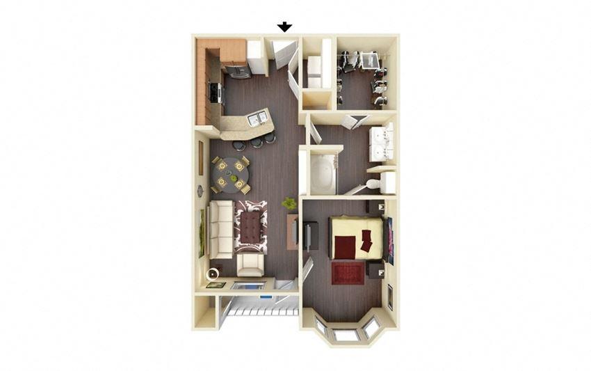 Esperanza Floor Plan at Residence at Midland, Midland, TX