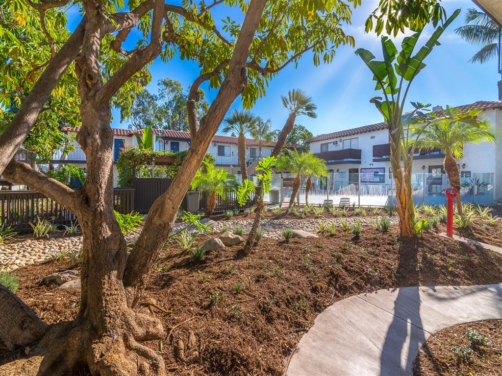 Dog Park at Portico Villas Apartments Fullerton