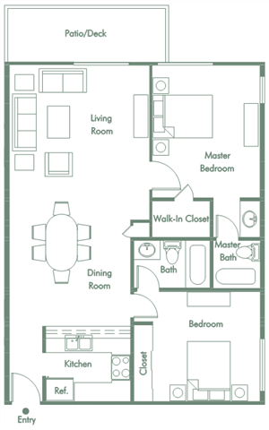 Downtown Fullerton Apartment for Rent