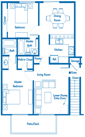 furnished apartment building