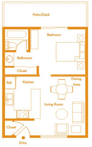 Room for Rent in Fullerton CA