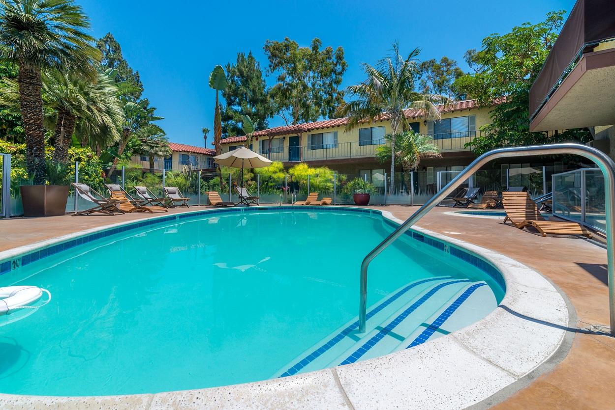 Pool at Portico Villas Apartments