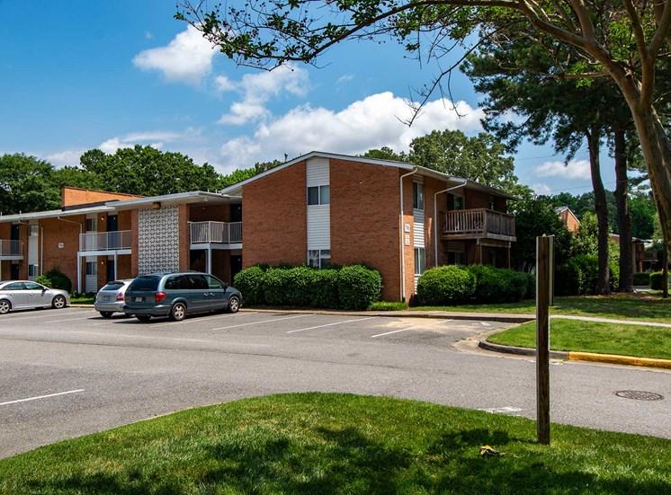 Harper's Landing Apartments Building Parking Lot 30
