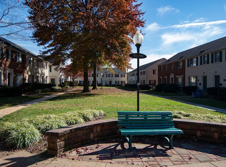 Brookville Townhomes Benches