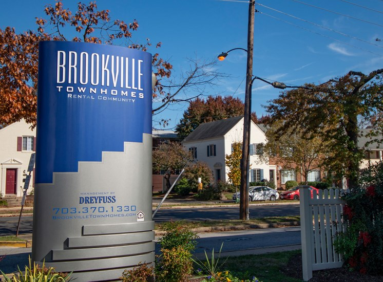 Brookville Townhomes Entrance Signage 2 Photo