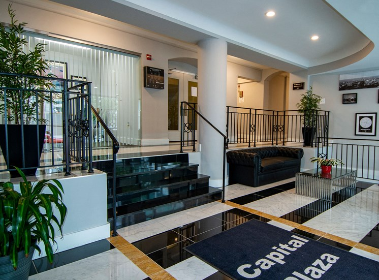 Capital Plaza Apartments Front Entryway 14