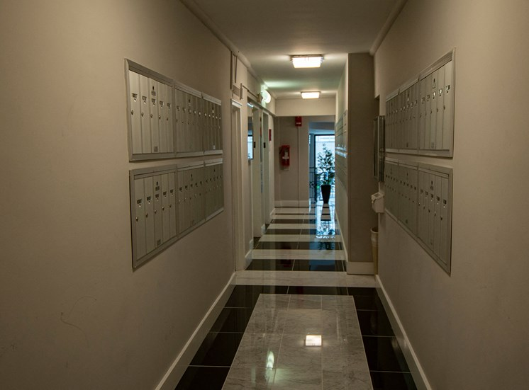 Capital Plaza Apartments Mail Room 22