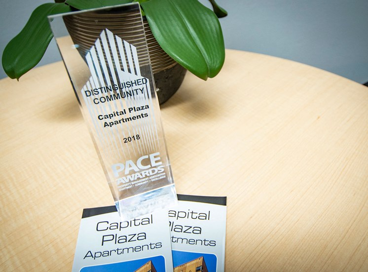 Capital Plaza Apartments Award