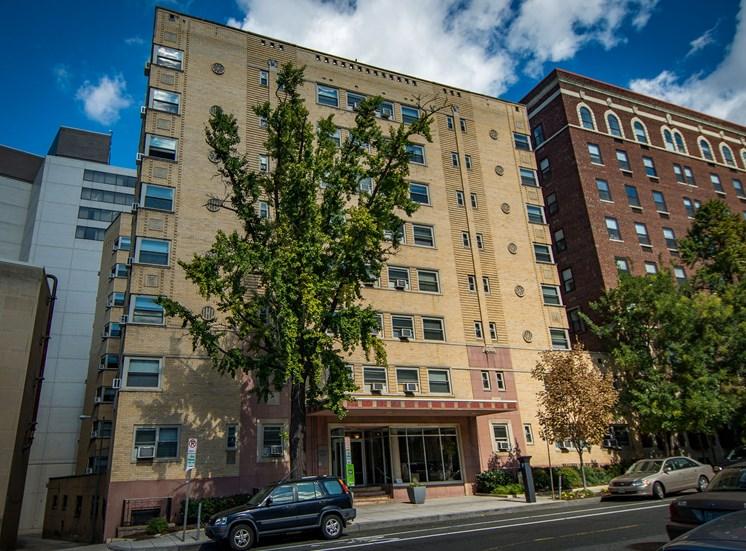 Capital Plaza Apartments Building Exterior 10