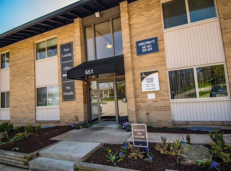 Crane Village Apartments Building Exterior Entry