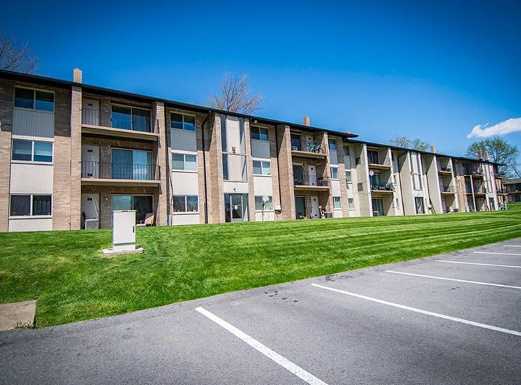 Crane Village Apartments Parking