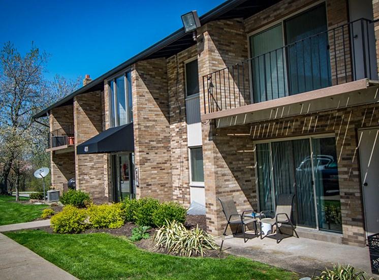 Crane Village Apartments Patios or Balconies