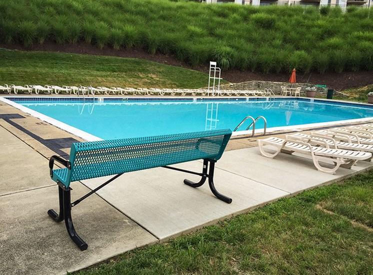 Crane Village Apartments Pool Deck