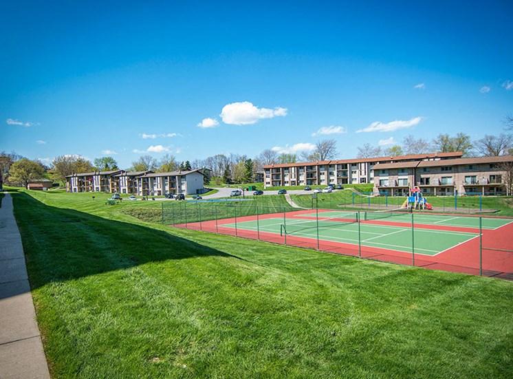 Crane Village Apartments Tennis Court