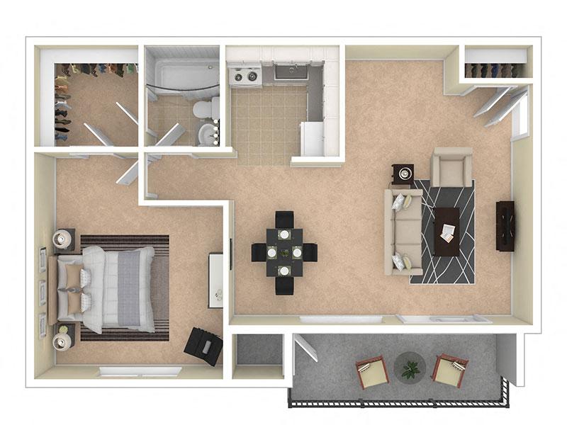 Del Vista Apartments One Bedroom