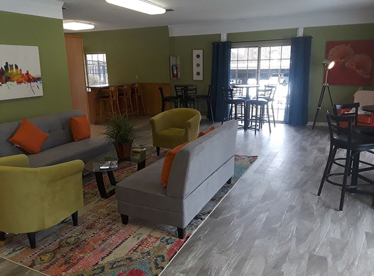 Laurel Village Apartments Recreation Room