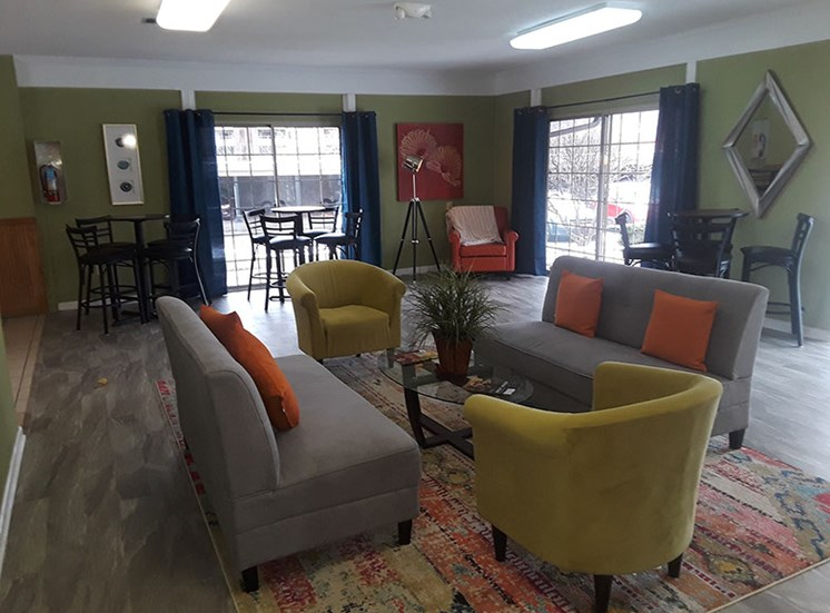 Laurel Village Apartments Recreation Room 2