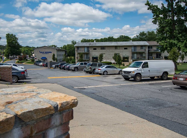 Lilly Garden Apartments Parking Lot 24