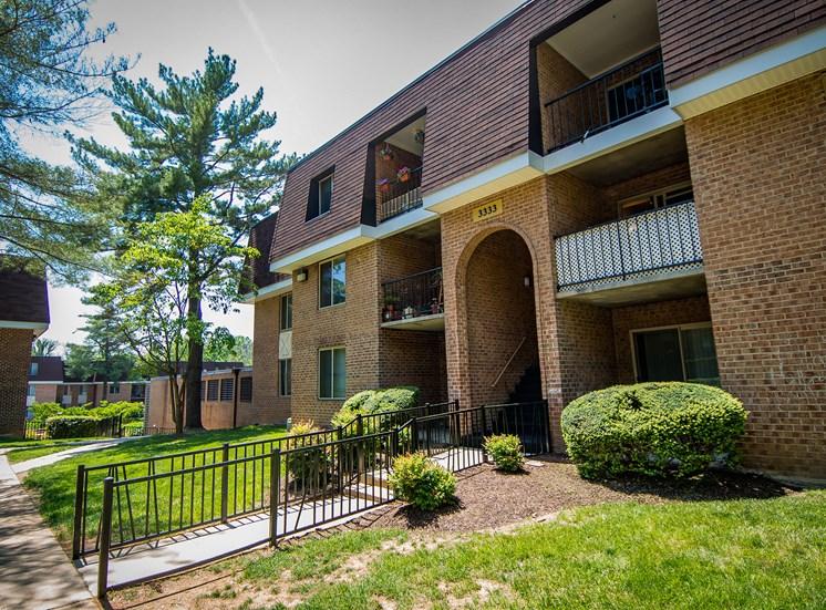 Oakton Park Apartments Building Exterior 55