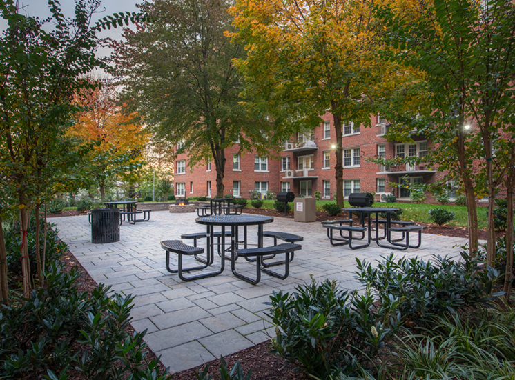 The Metropolitan Apartments Picnic Area