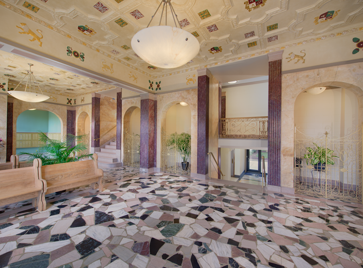 The Metropolitan Apartments Historic Lobby