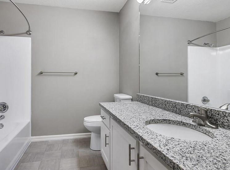 renovated unit bathroom