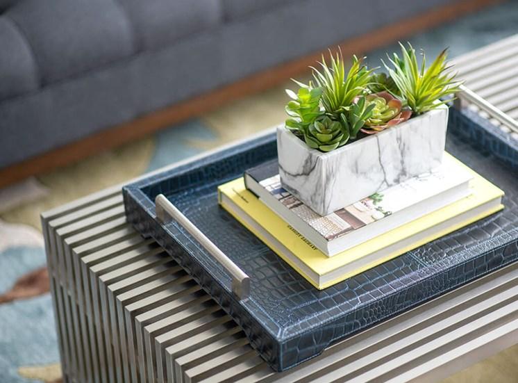 Bonsai Plants In Bedroom at Lake Monroe Apartments, Sanford, Florida
