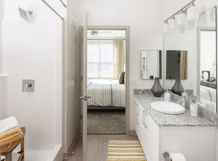 Rich bathroom at Lake Monroe Apartments, Sanford, FL
