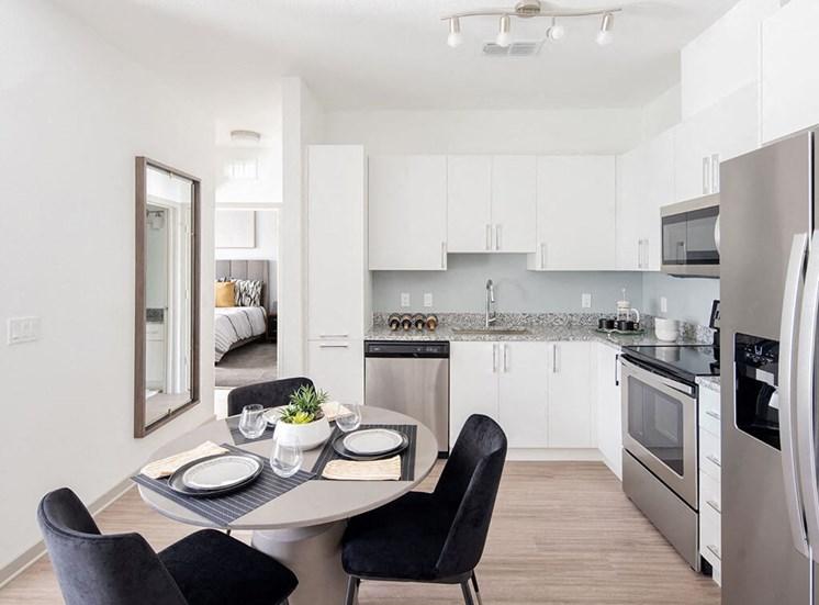 Spacious Kitchen at Lake Monroe Apartments, Sanford, FL