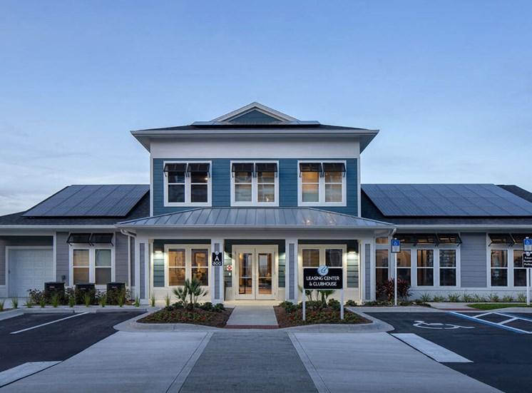 Elegant Exterior View at Lake Monroe Apartments, Florida