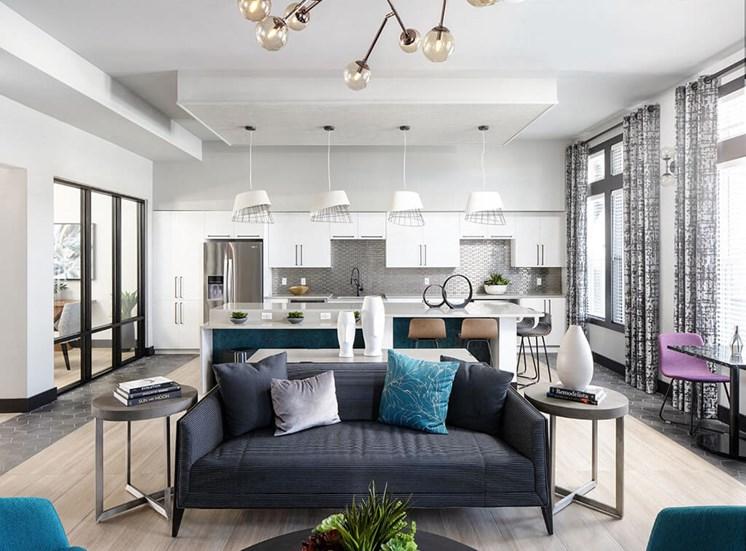Large Interior at Lake Monroe Apartments, Sanford, FL