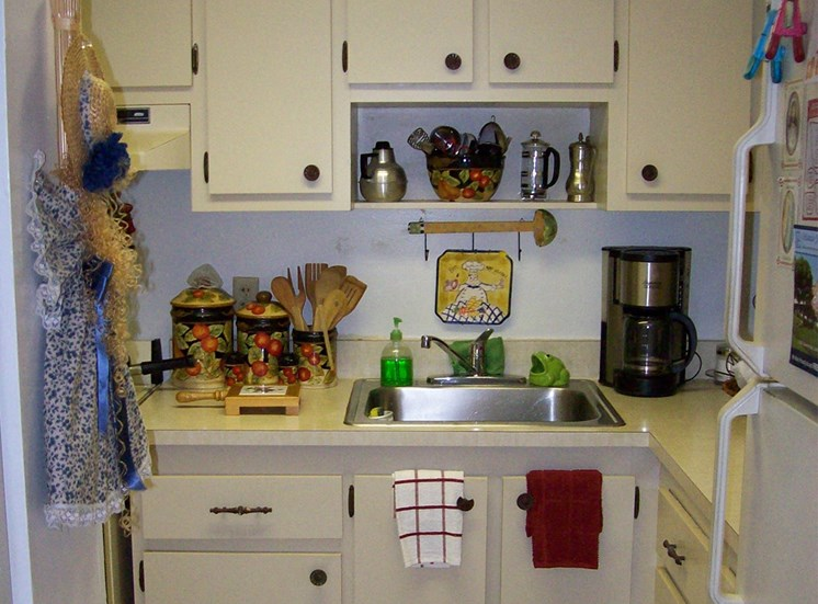 kitchen with plenty of cabinet space