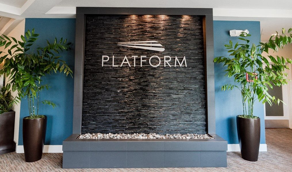 Kent Apartments - The Platform Apartments - Sign