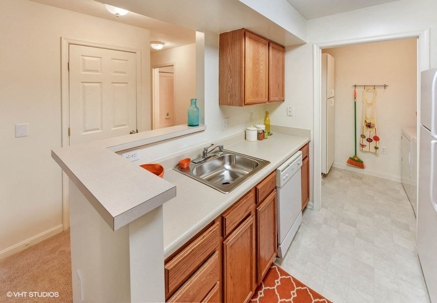 Modular Kitchen at The Residences at the Manor Apartments, Frederick, Maryland