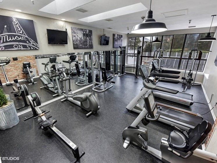 Vitality Fitness Hub at The Residences at the Manor Apartments, Frederick, MD, 21702