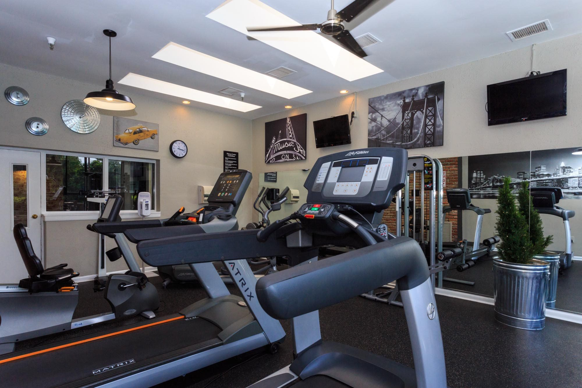 24-hour On Site Fitness Center at The Residences at the Manor Apartments, Frederick, 21702