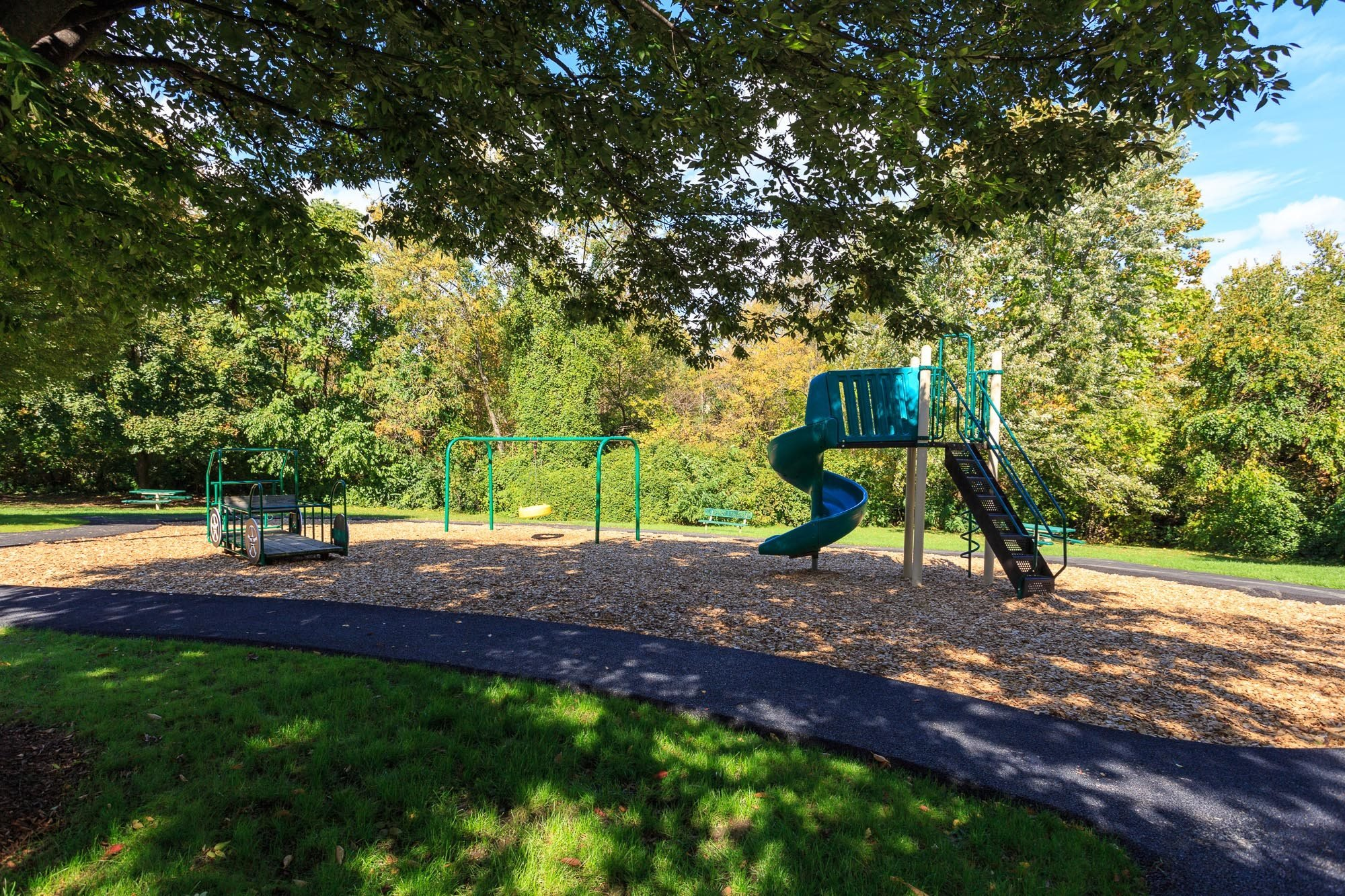 Creekside Picnic Area and Tot Lot at The Residences at the Manor Apartments, Frederick, MD 21702