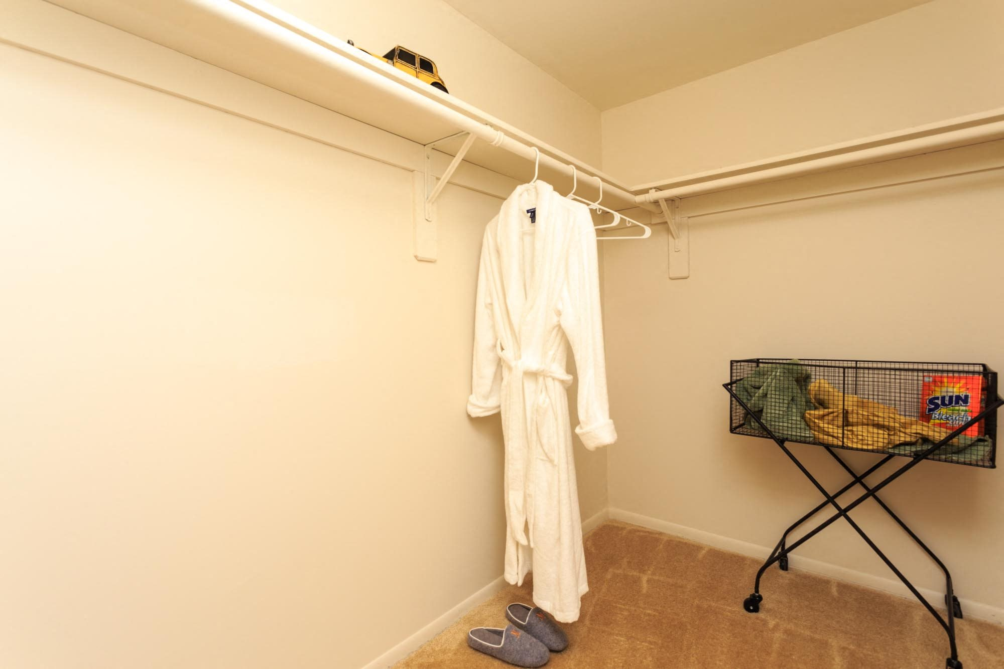 Huge Closets at The Residences at the Manor Apartments, Maryland