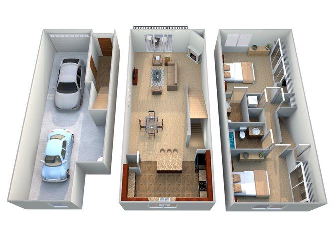 Roma B2 Floor Plan 2