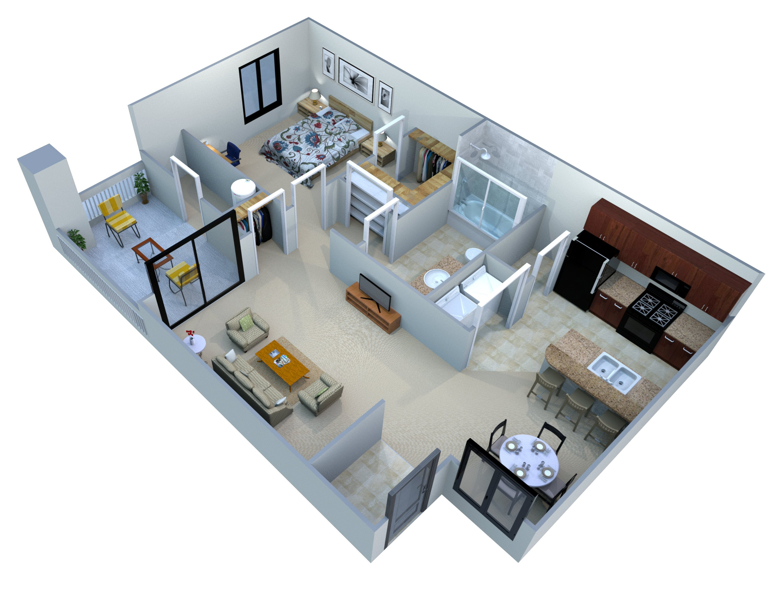 Plan A-1 Floor Plan 1