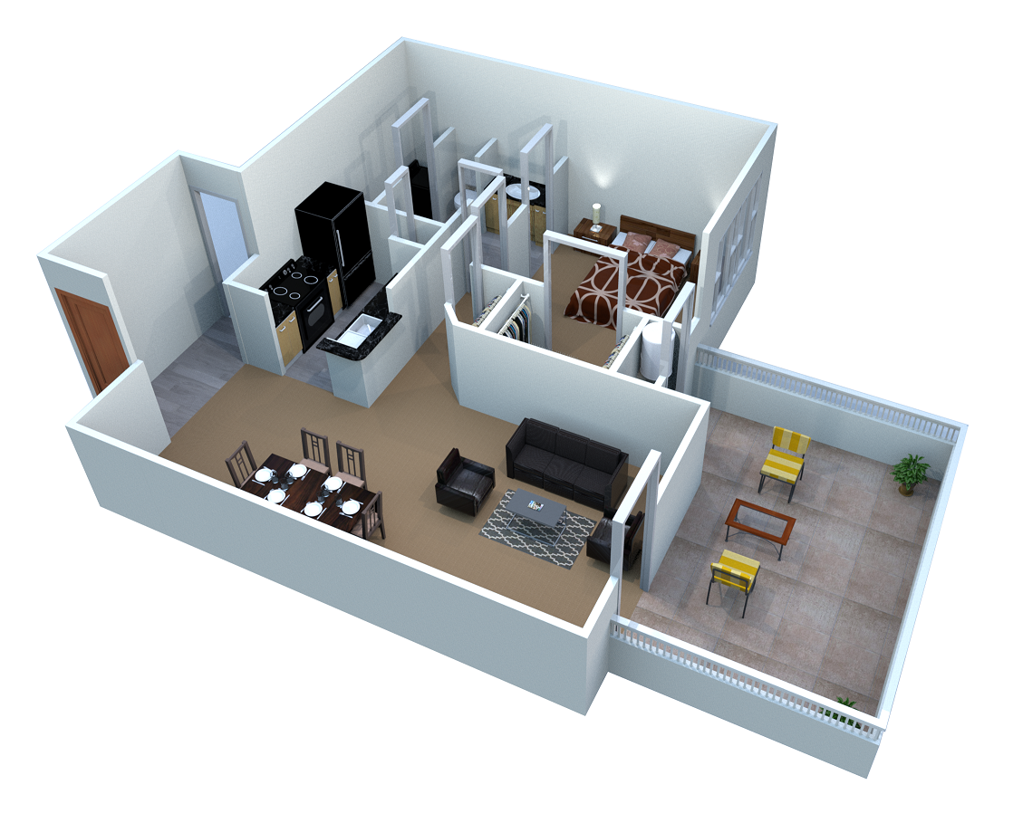 Murano Floor Plan 3