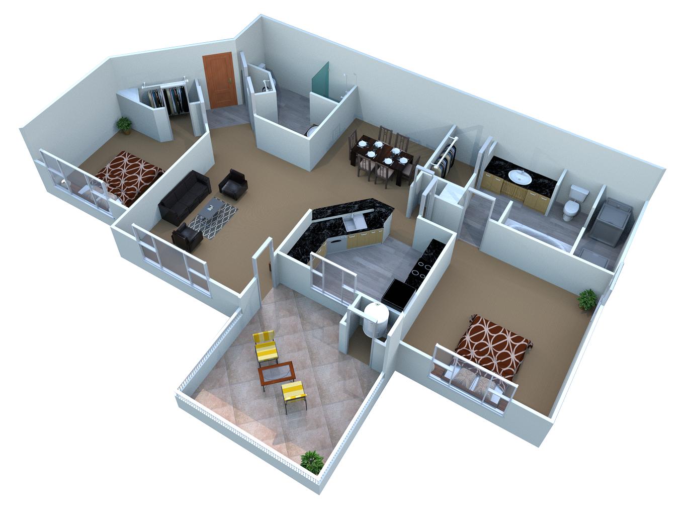 Santorini Floor Plan 5