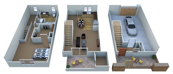 A4 - Arizona Floor Plan 1